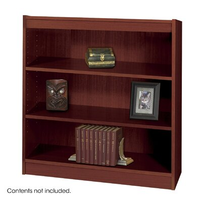 Safco Products Company 3-Shelf Square Edge Veneer Bookcase