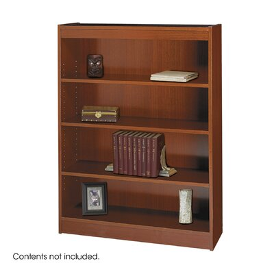 "Safco Products Company 48"" H Square-Edge Bookcase"
