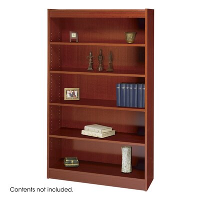 Safco Products Company 60&quot; H Square-Edge Bookcase