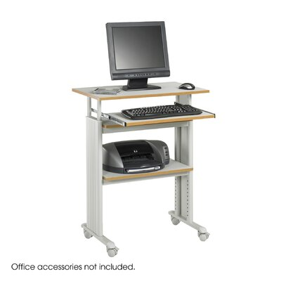 "Safco Products Company MUV 30"" W Height-Adjustable Stand-Up Workstation"