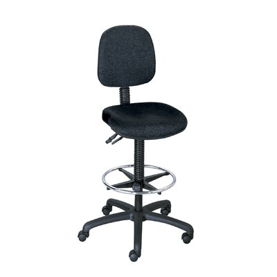Safco Products Company Height Adjustable Drafting Chair with Casters