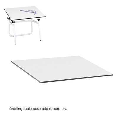 Safco Products Company Drafting Rectangular Table Top, 48&quot; Wide