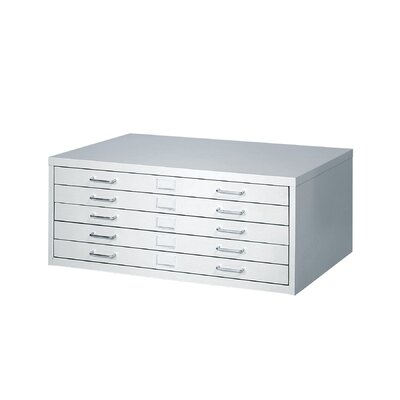 Safco Products Company Small Facil Flat File Cabinet