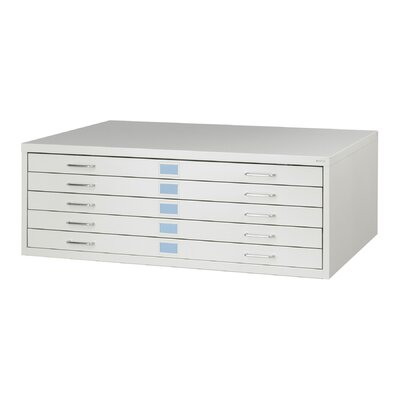 Safco Products Company Medium Facil Steel Flat File (with Optional Base)
