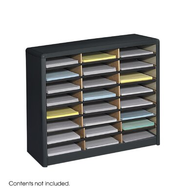 Safco Products Company Value Sorter Organizer (24 Compartments)