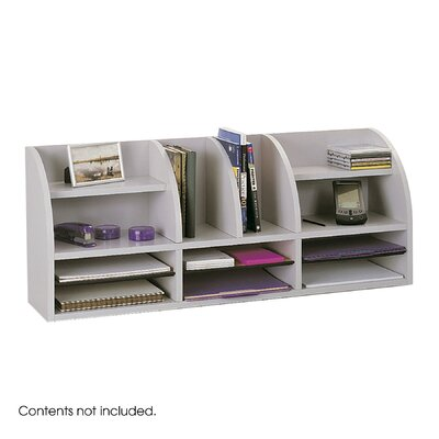 Safco Products Company 12-Compartment Organizer