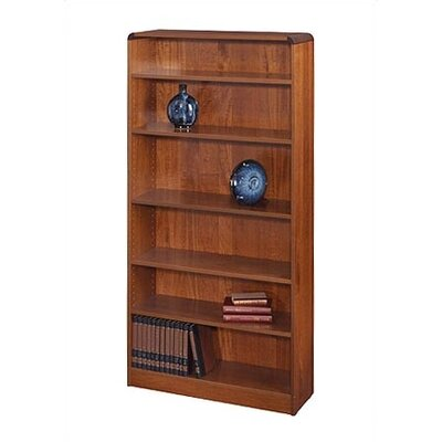 "Safco Products Company 72"" H Radius-Edge Bookcase"