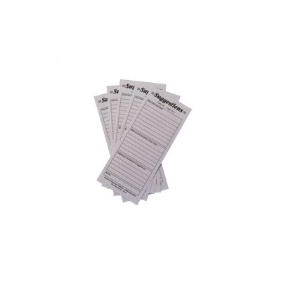 Safco Products Company Suggestion Box Cards (Set of 25)