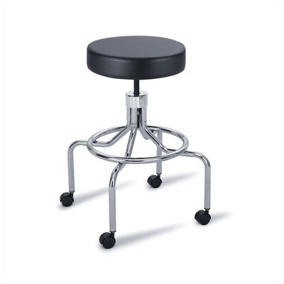 Safco Products Company Height Adjustable Lab Stool with Drafting Kit