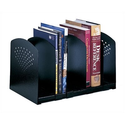 Safco Products Company Five-Section Adjustable Book Rack
