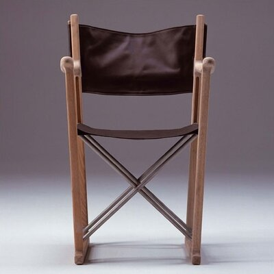 Skagerak Oak/Leather Classic Director Chair