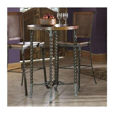 Riverside Furniture Medley Pub Table in Penney Patina