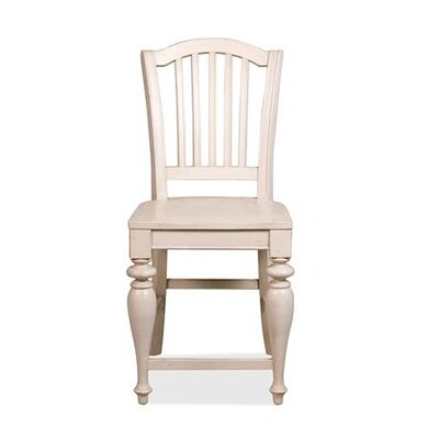 Riverside Furniture Mix-N-Match Counter Height Chair in Dover White