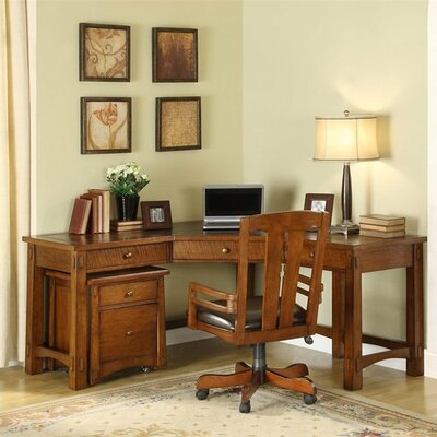Riverside Furniture Craftsman Home Office Suite