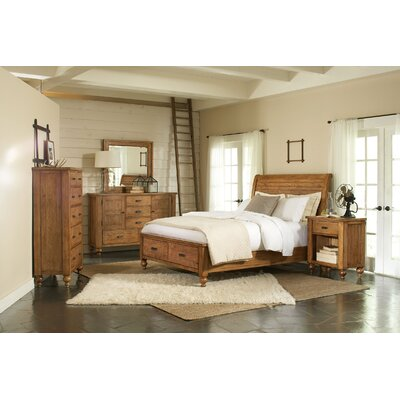 summerhill storage sleigh bedroom collection wayfair