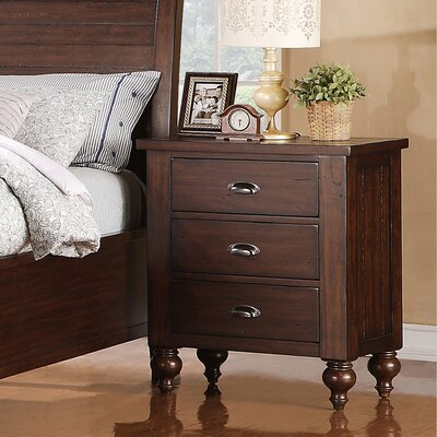 Riverside Furniture Castlewood 3 Drawer Nightstand