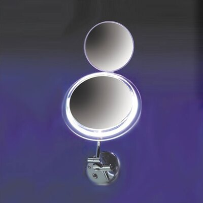"Zadro Type9"" Wall Mount Mirror with Surround Light"