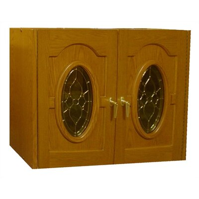 Vinotemp Napoleon 2 Door Oak Wine Cooler Credenza