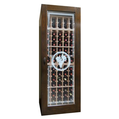Concord 250-Model Etched Glass Wine Cabinet