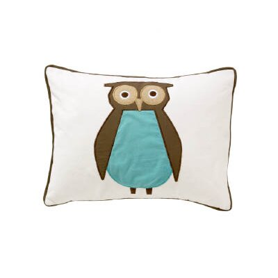 DwellStudio Owls Boudoir Pillow in Sky