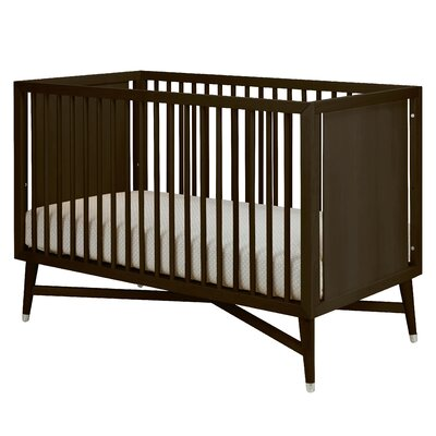 DwellStudio Mid-Century Two Piece Crib Set in Espresso