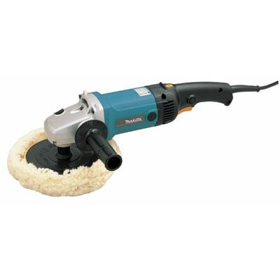 "Makita 7"" Sanders and Polishers - 7"" electronic sander-polisher variable speed"