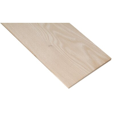 "Waddell 1/4"" X 1-1/2"" X 24"" Oak Project Board PB19500"