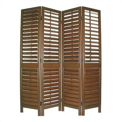 Wooden Blind Room Divider
