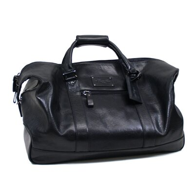 "Kenneth Cole Reaction Roma ""Its Duff Out There"" 20"" Leather Carry-On Duffel"