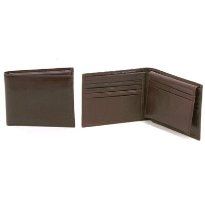 "Kenneth Cole Reaction Fenway Lugano ""Pass The Buck"" Passcase Wallet"