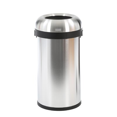 simplehuman Bullet Open Trash Can
