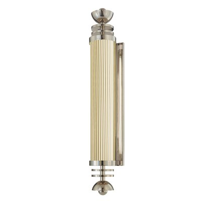 Sonneman Demi-Cylindre E'Tape 1 Light Wall Sconce