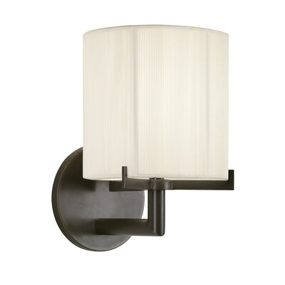 Sonneman Boxus Round One Light Wall Sconce