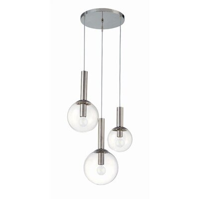 Sonneman Bubbles 3 Light Pendant