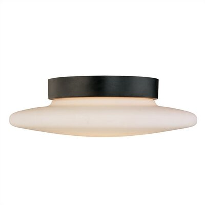 "Sonneman Saturn 4.5"" 2 Light Semi Flush Mount"