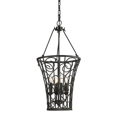 Elk Lighting Santiago 4 Light Foyer Hanging Pendant