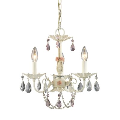 Elk Lighting Elise 3 Light Mini-Chandelier
