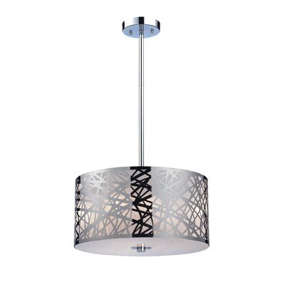 Elk Lighting Tronic 3 Light Drum Pendant