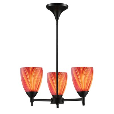 Elk Lighting Celina 3 Light Chandelier