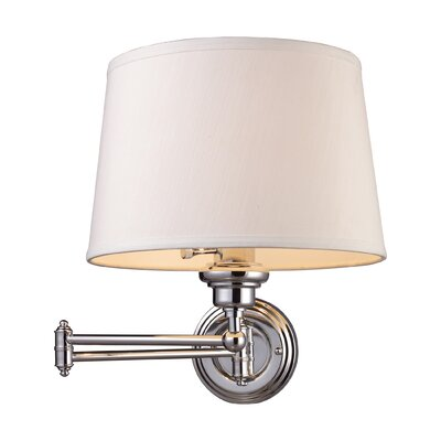 Elk Lighting Westbrook  Swing Arm Sconce in Polished Chrome