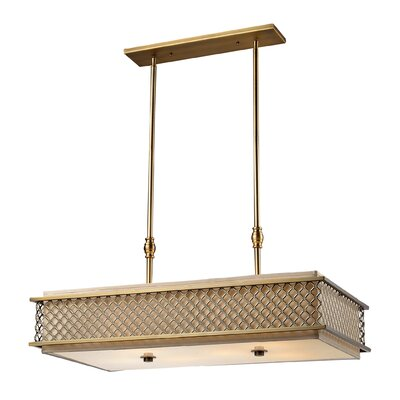 Vuelta 4 Light Kitchen Island Pendant