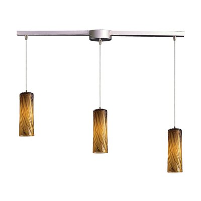 Elk Lighting Maple 3 Light Linear Pendant