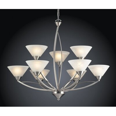 Elk Lighting Elysburg 9 Light Chandelier