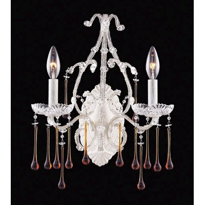 Elk Lighting Opulence 2 Light Candle Wall Sconce