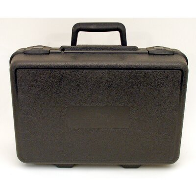 Blow Molded Case in Black: 10 x 15 x 5.5