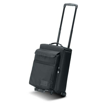 "Jelco Padded Hard Side Wheeled Projector Case with Removable Laptop Case: 24"" H x 15"" W x 13"" D"
