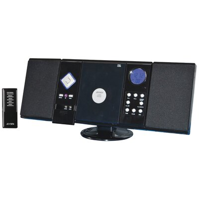 Jensen Wall-Mountable CD System