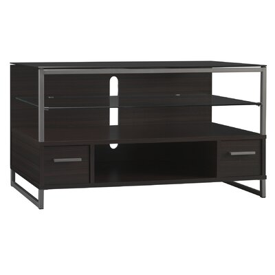 Bush Industries My Space ARA TV STAND w/FOLD UP FABRIC BIN