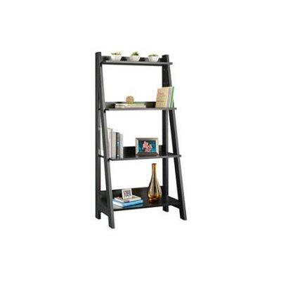 ... Wayborn Ladder Shelf In Black 9025B WYB1517 On Small Decorative Wood  Shelf ...