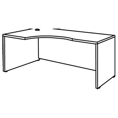 Bush Industries Series C Left Corner Desk Module